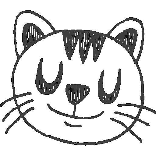 宠物 手绘 猫