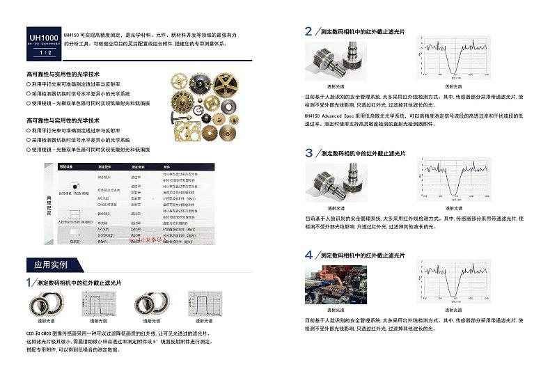 蓝色商务产品宣传画册产品展示