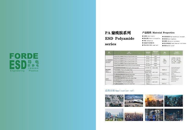 塑料企业宣传画册产品展示